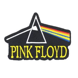 Accessories - Pink Floyd patch iron on band Dark Side Of Moon